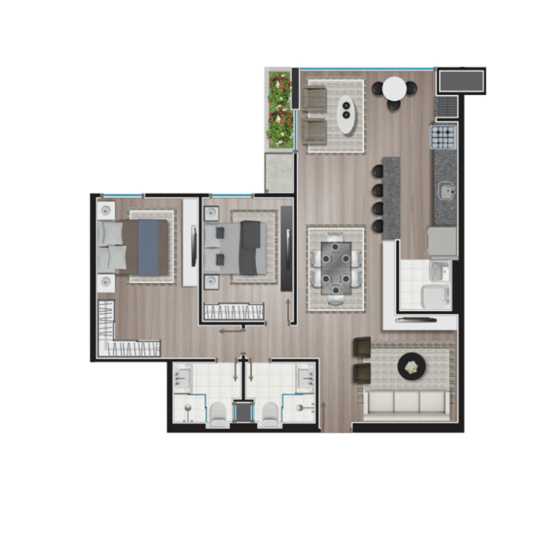 Apartamento tipo 10