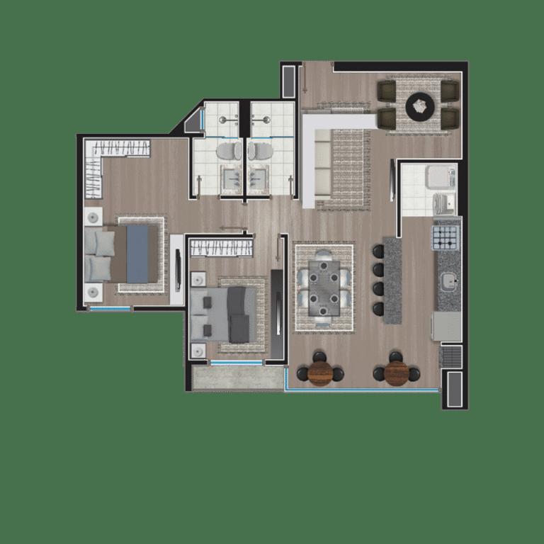 Apartamento tipo 11