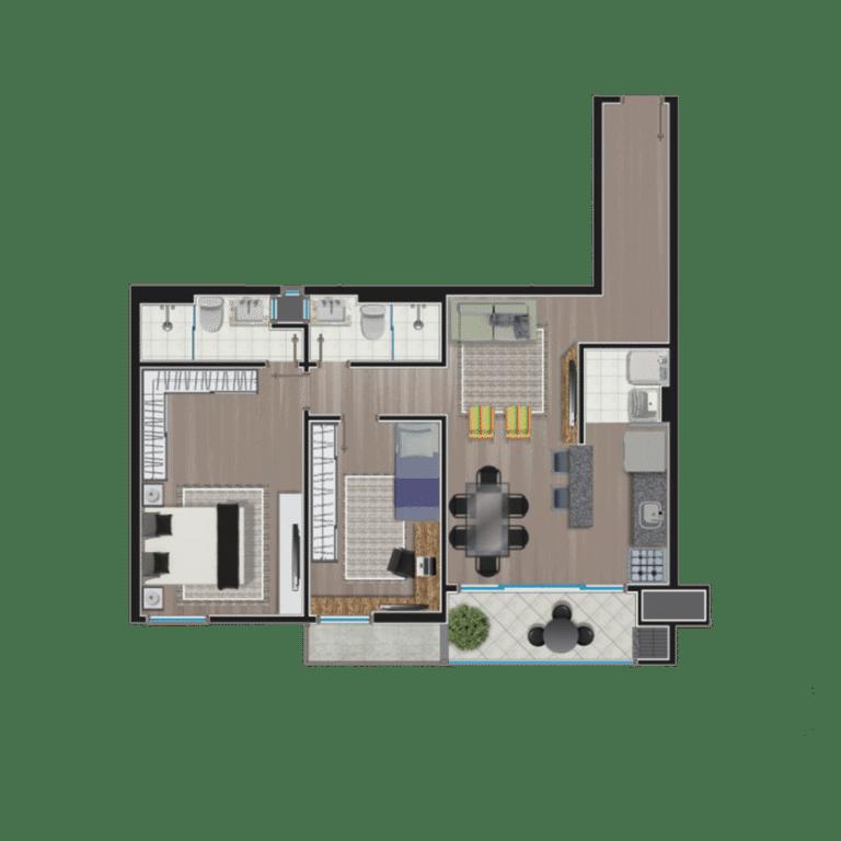 Apartamento tipo 8
